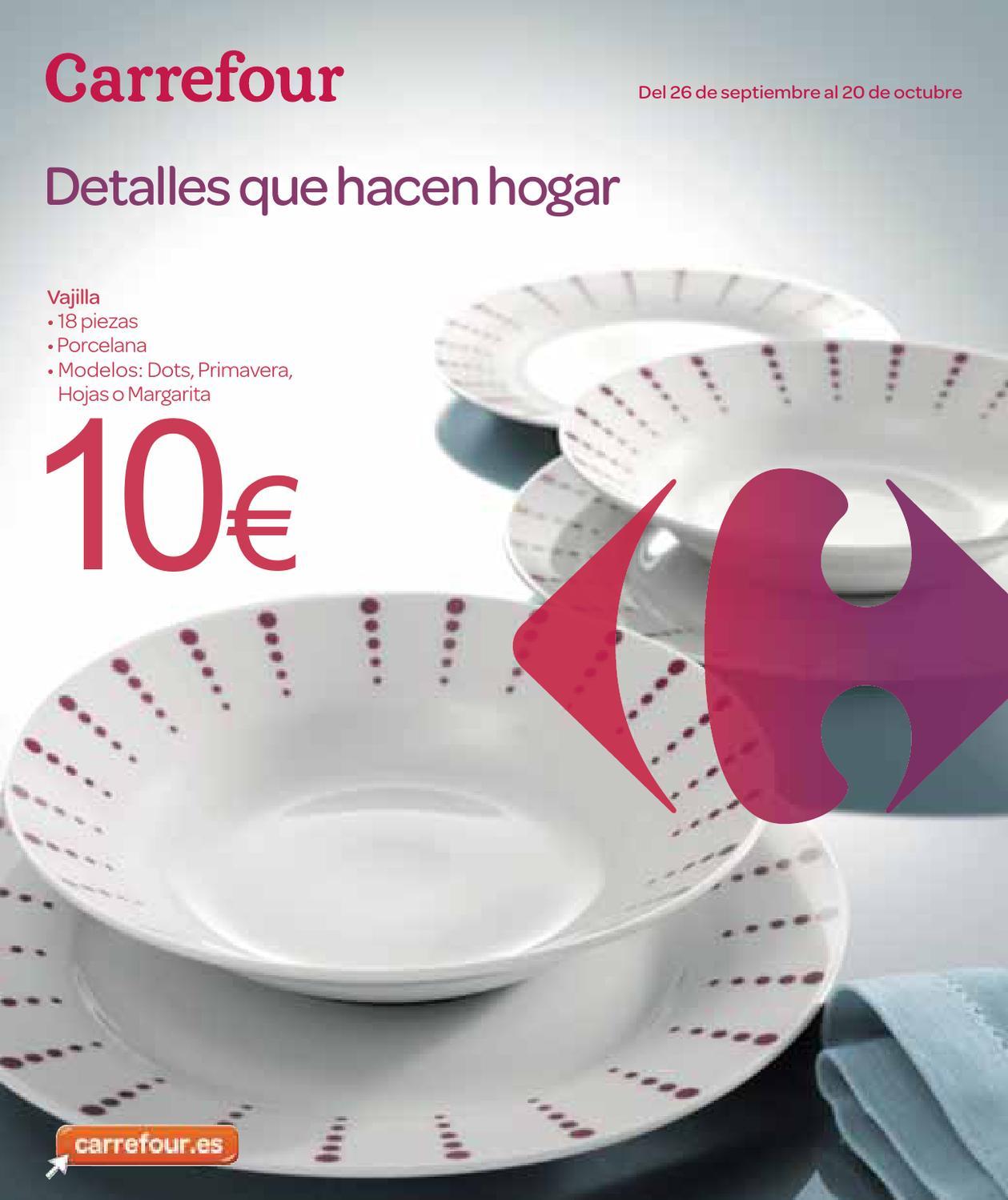 Catalogo carrefour electrodomesticos y menaje by - Carritos de cocina carrefour ...