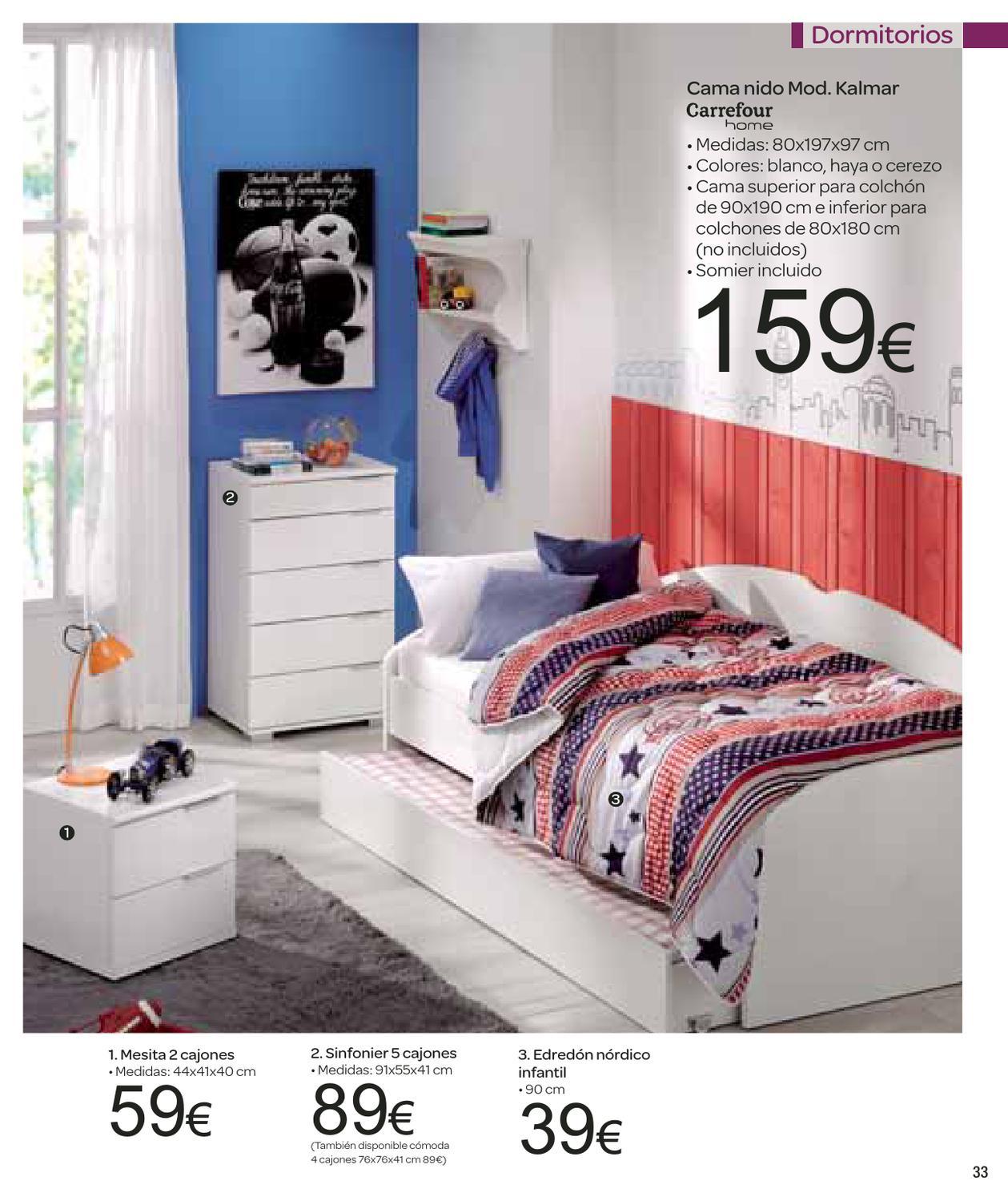 Somier Cama 90 Carrefour.Catalogo Carrefour Electrodomesticos Y Menaje By Milyuncatalogos Com
