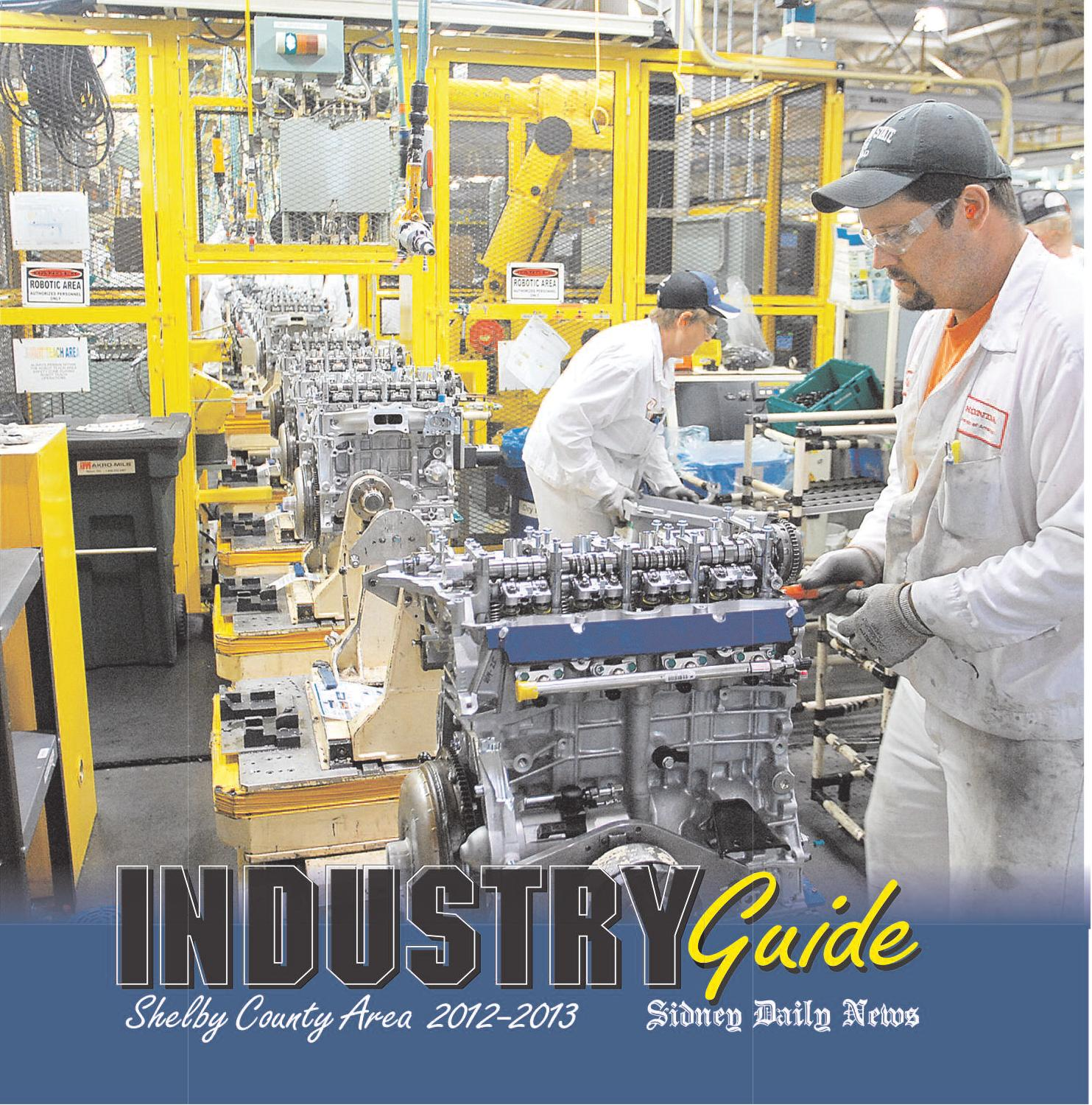 Shelby county industry guide 2012 by i 75 newspaper group issuu publicscrutiny Gallery