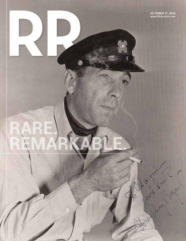 RR Auction Monthly Autograph Auction by RR Auction - issuu