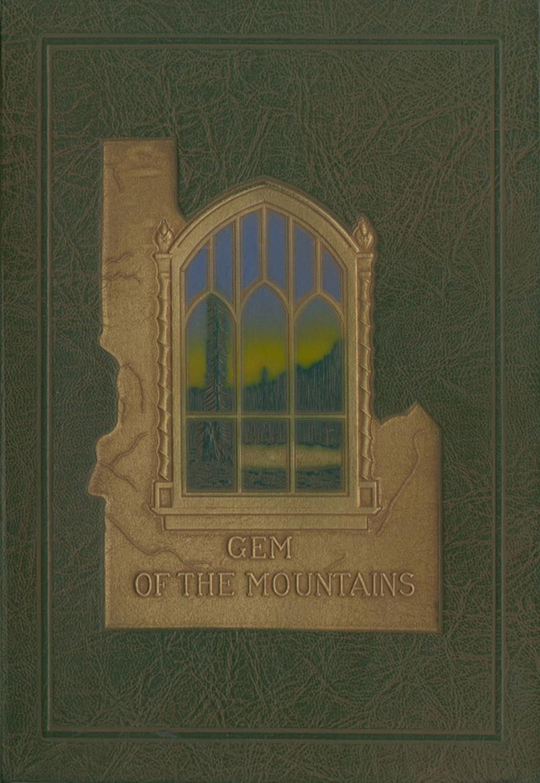 1926 Gem Of The Mountains Volume 24 University Of Idaho Yearbook