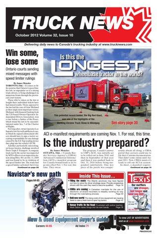 9abbe5a01d6a6 Truck News October 2012 by Annex Business Media - issuu