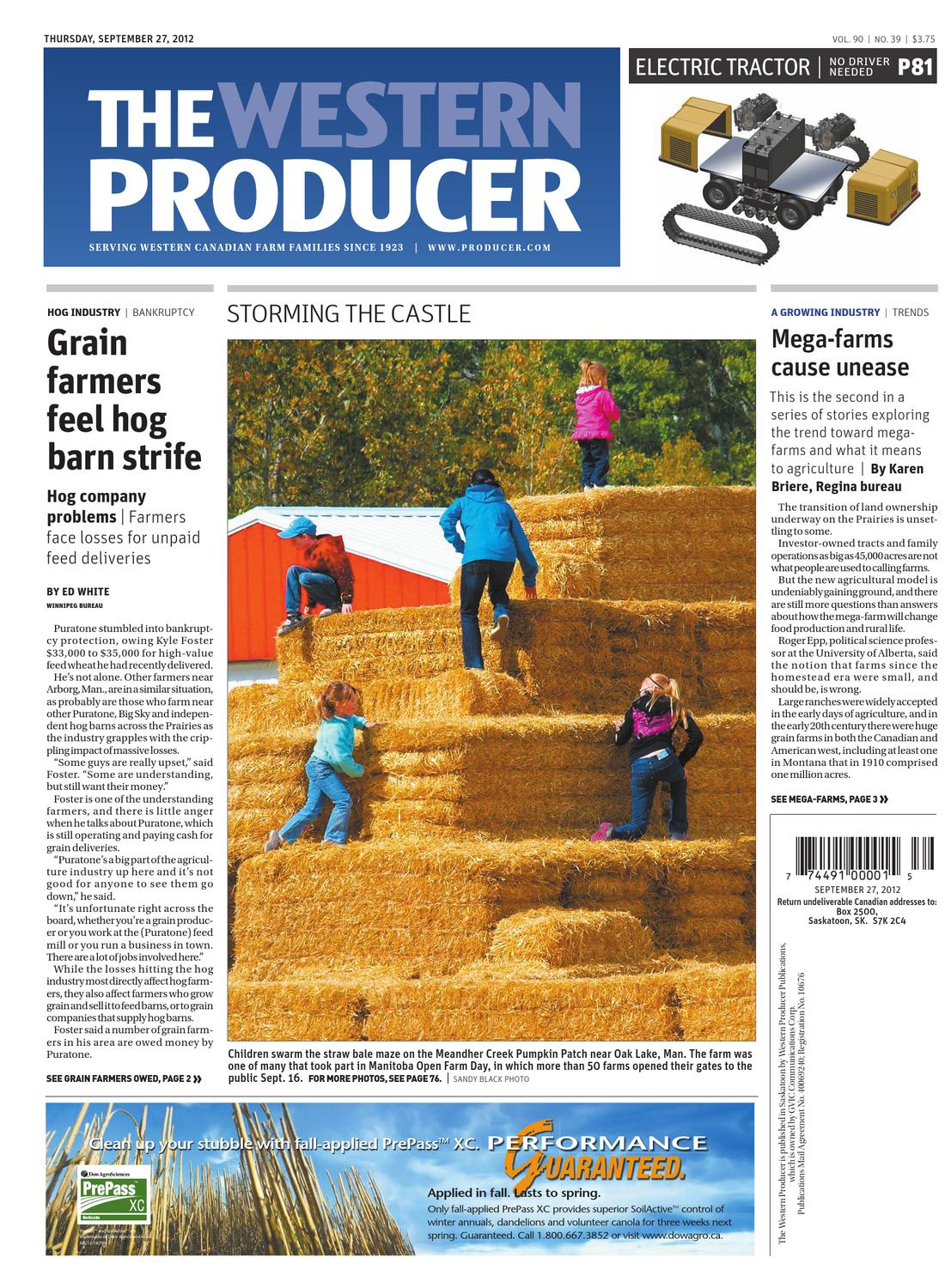 September 27, 2012 - The Western Producer by The Western Producer - issuu