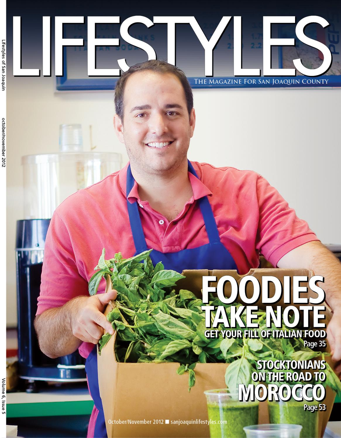 San Joaquin Lifestyles Oct 2012 By The Record Specialty Publications