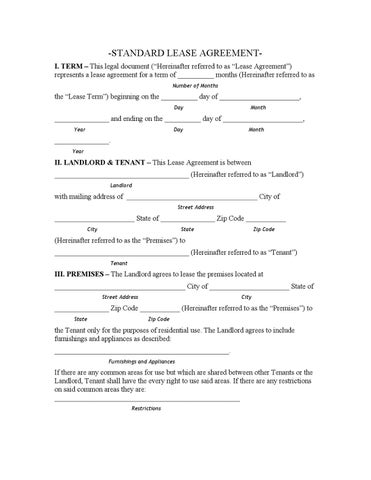 Louisiana Standard Lease Agreement By Charles Gendroni Issuu