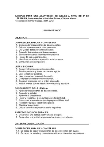 Ejemplo Ingles 3º Primaria By Orientacion Iesalbericia Issuu