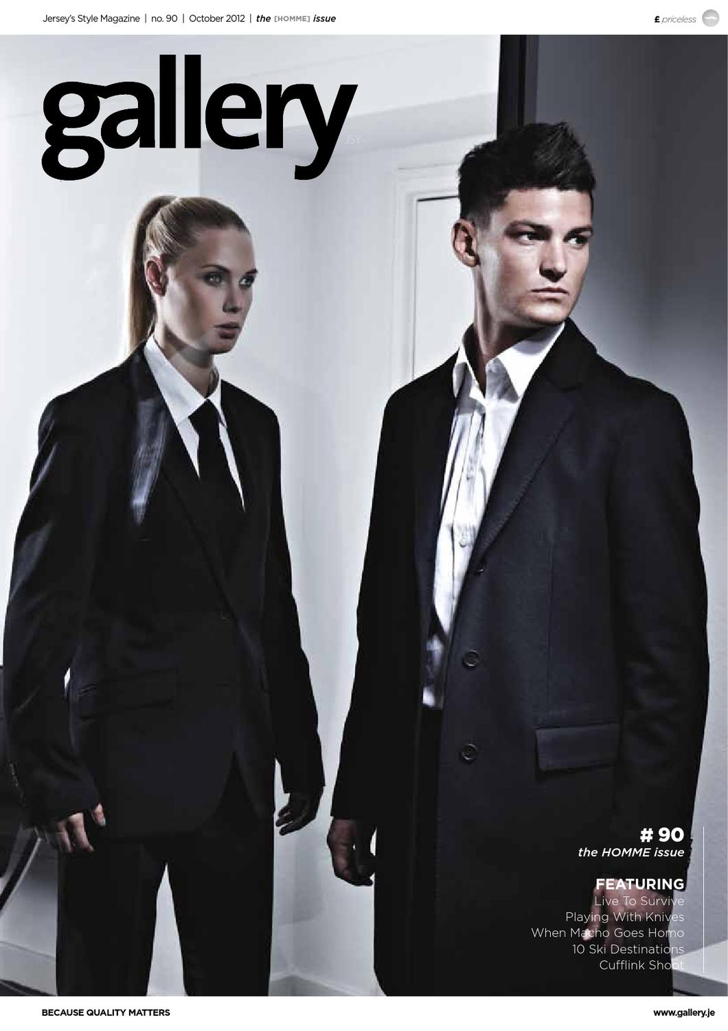 buy online 35d45 27696 Gallery Magazine issue 90 -  The Homme Issue  by factory - issuu