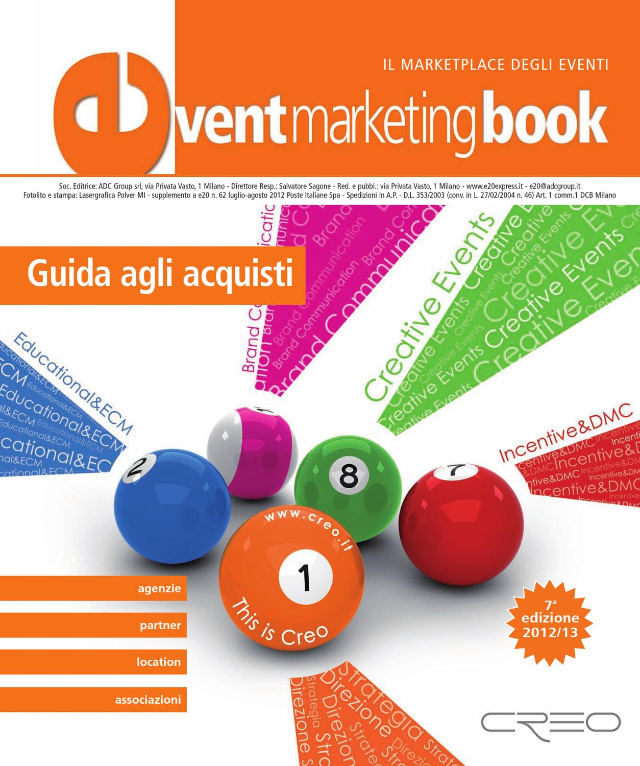 f81f9b889f Event Marketing Book 2012 by ADC Group - issuu