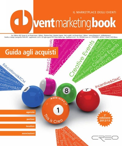 various colors 87996 38df5 Event Marketing Book 2012 by ADC Group - issuu