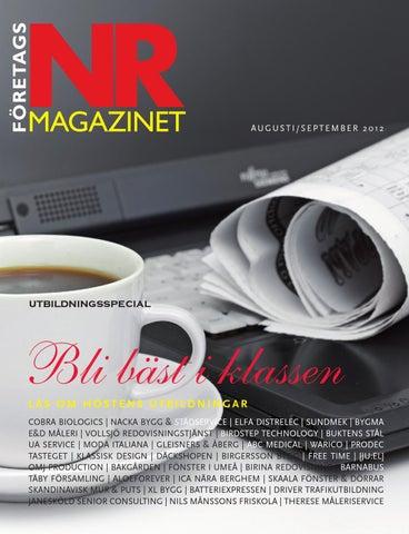 Företagsmagazinet NR 8 2012 by Företagsmagazinet - issuu 25f631788ef3e