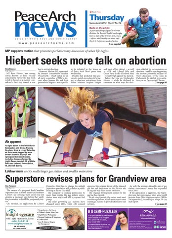 Peace Arch News September 27 2012 By Black Press Media Group Issuu