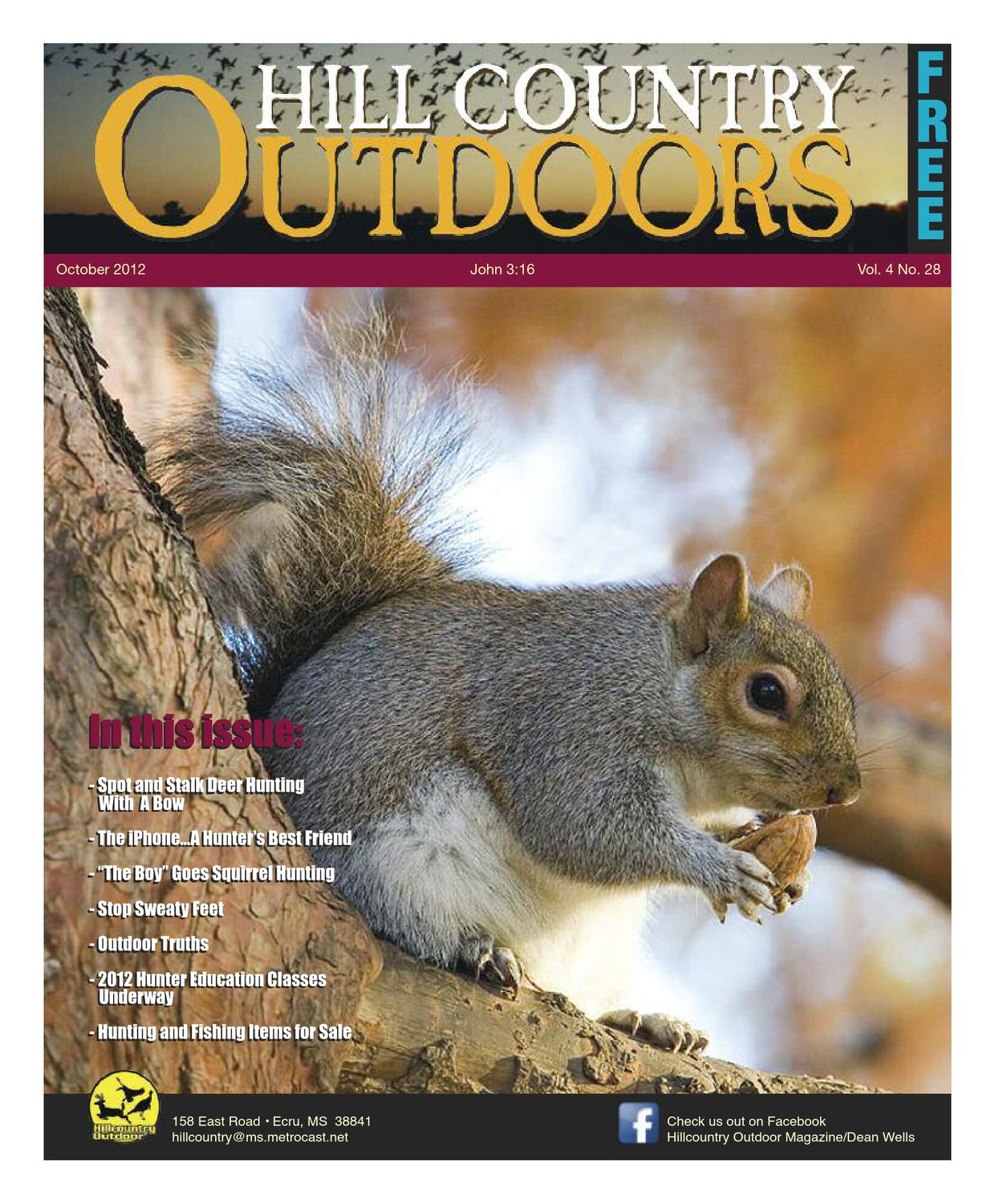 ec955aea18d Hill Country Outdoors October Issue. by Mississippi Hill Country ...