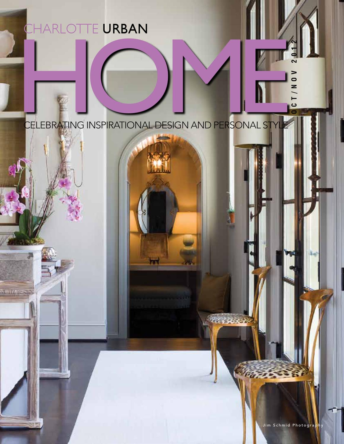 Urban Home Magazine Oct Nov 2012 By Home Design Decor