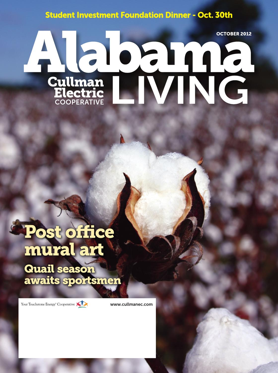 Alabama living cullman october 2012 by national country for Country living magazine phone number