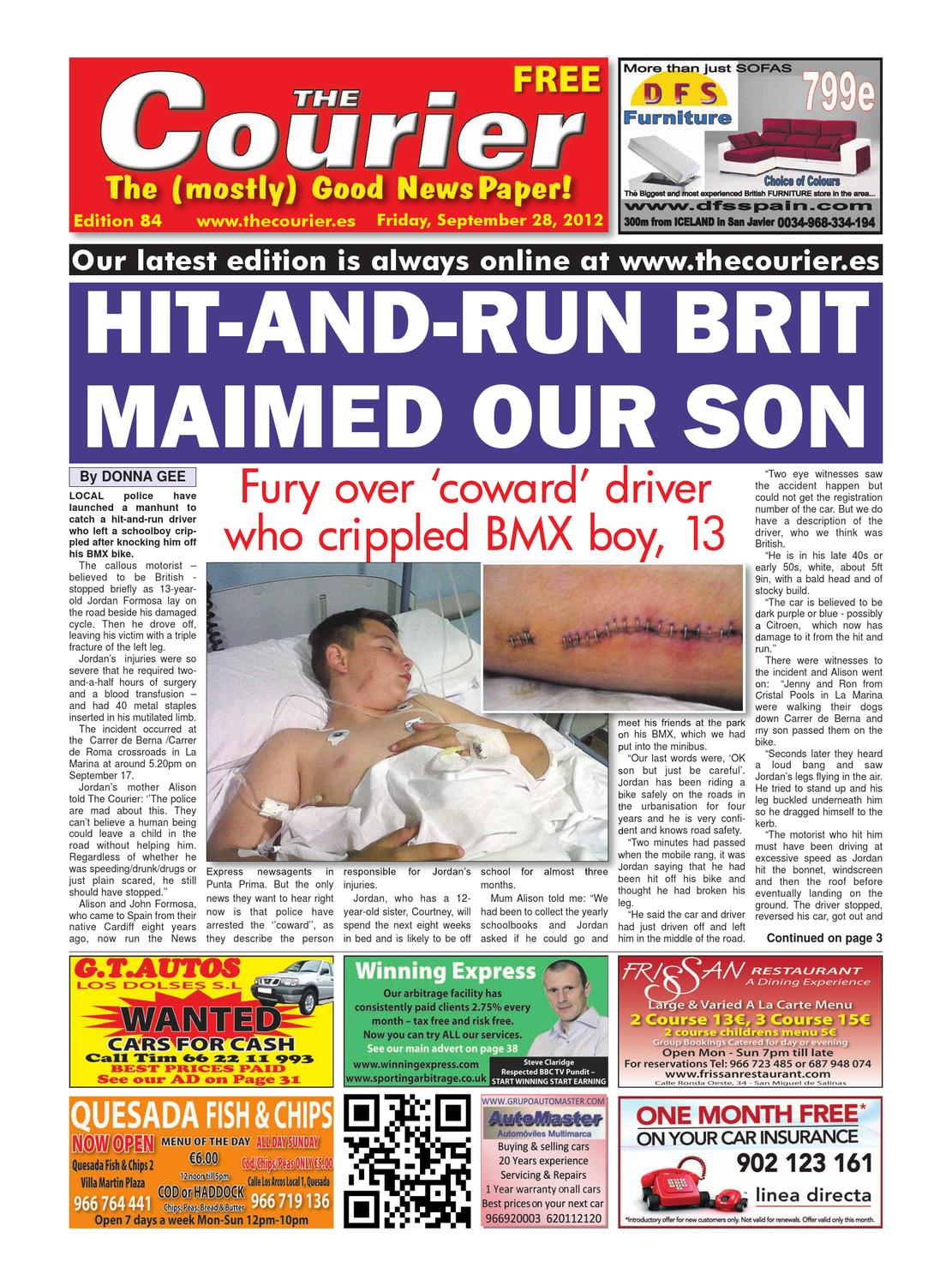 The Courier Week 84 By The Courier Newspaper Issuu