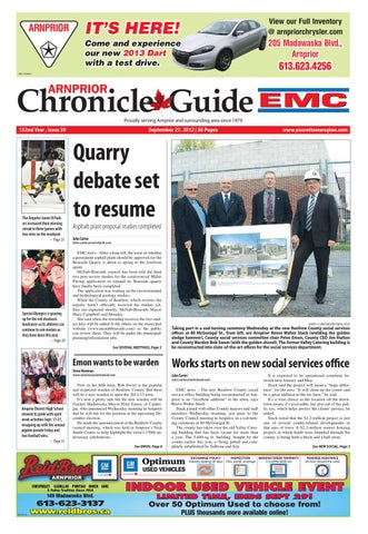 67b007e7f8e Arnprior Chronicle Guide EMC by Metroland East - Arnprior Chronicle ...