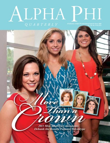 Fall 2012 Alpha Phi Quarterly by Alpha Phi International Fraternity ... bbe96333d680