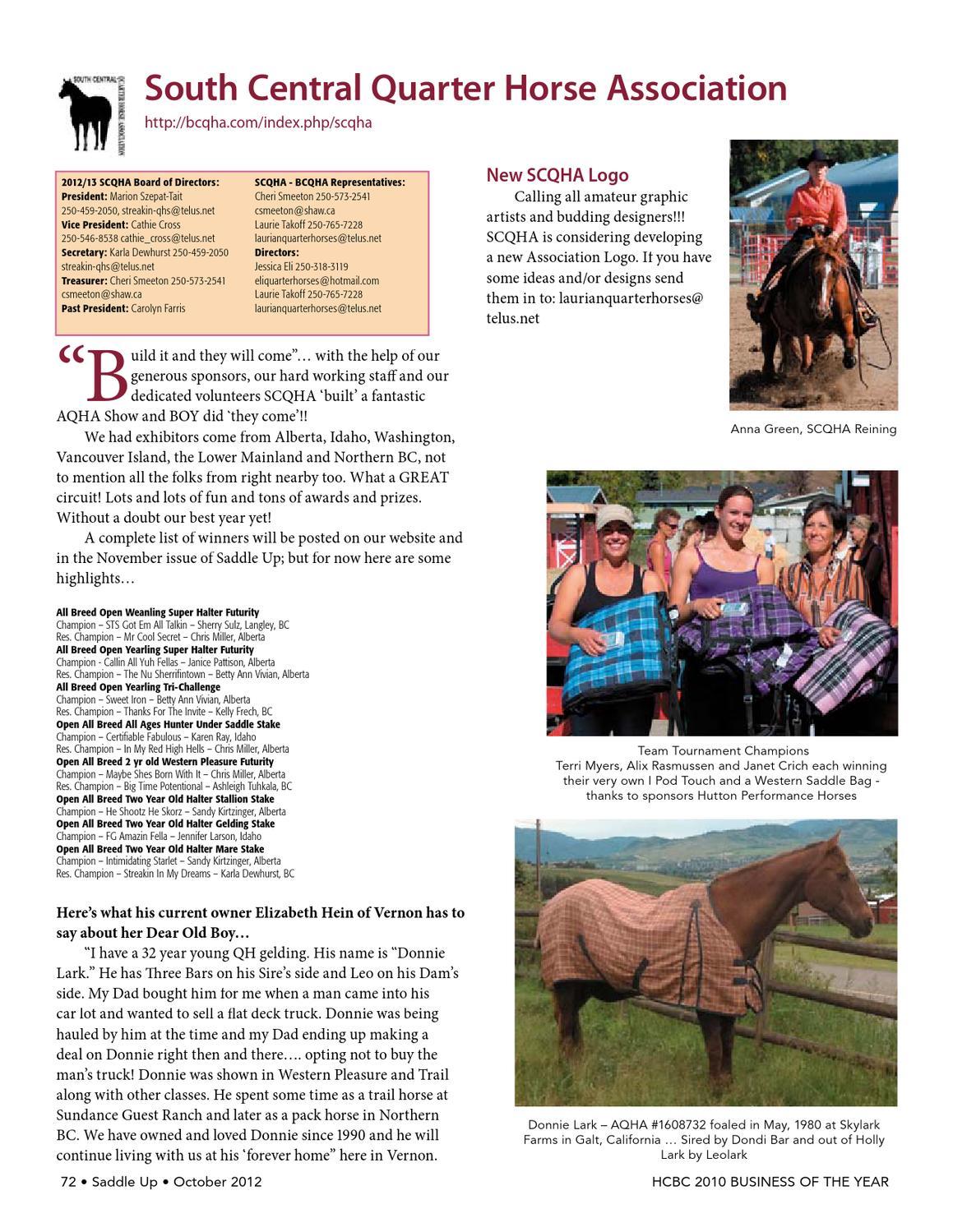 November 2015 Saddle Up! Magazine by Saddle Up! Magazine