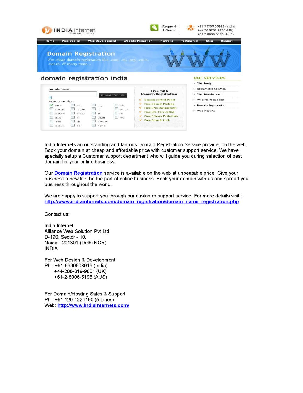 Image Result For Cheap Domain Registration And Web Hosting In India
