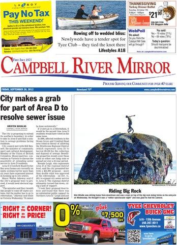 Campbell River Mirror, September 28, 2012