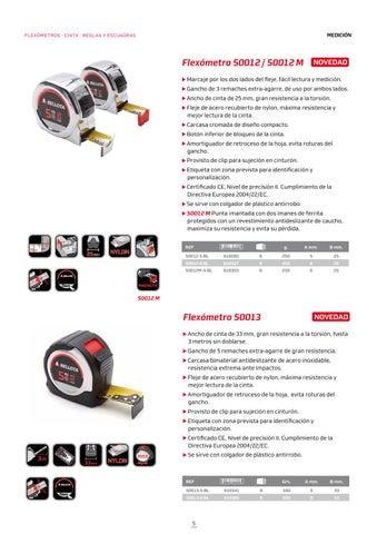 Flex/ómetro Cromado BELLOTA 50012-8 BL