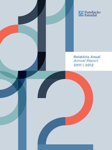 Relatrio anual 2012 by fundao estudar issuu page 1 fandeluxe Gallery