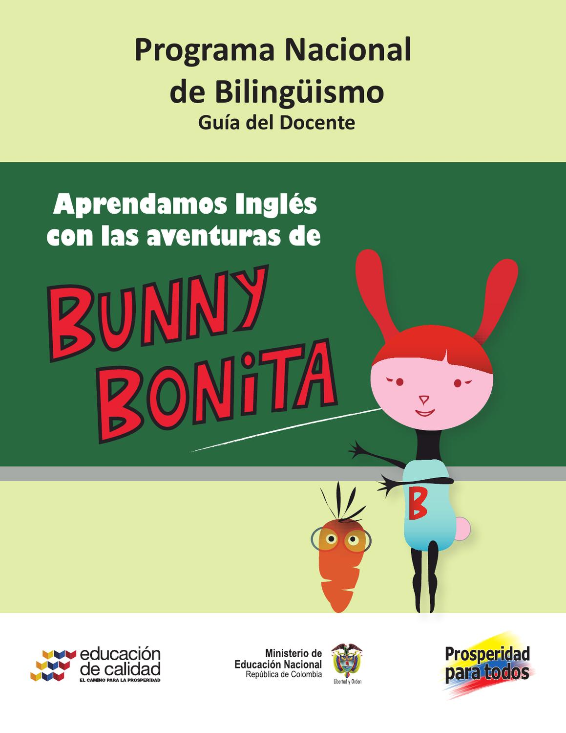 Guía Del Docente Bunny Bonita By Graparte Issuu