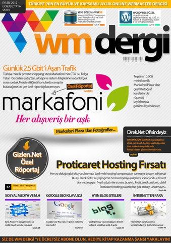 6ba0d4fc743bd WM Dergi - 4. Sayı by WM Dergi - issuu