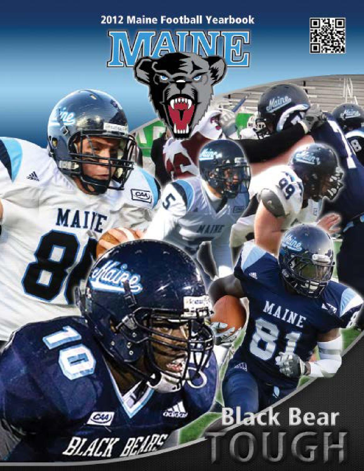 Cheap 2012 Maine Football Guide by University of Maine Athletics  free shipping
