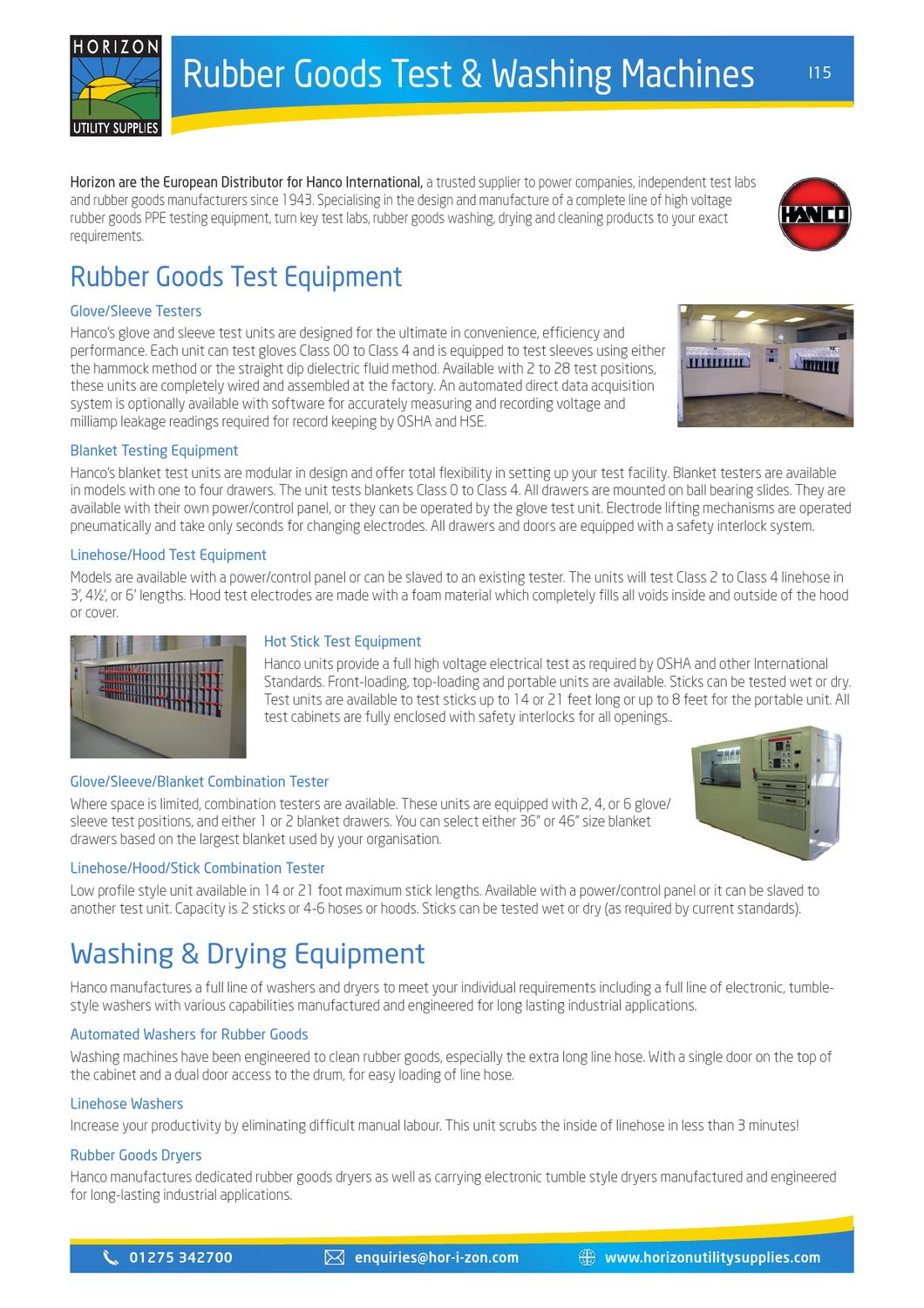Horizon Utility Supplies Catalogue by Andrew Talbot - issuu