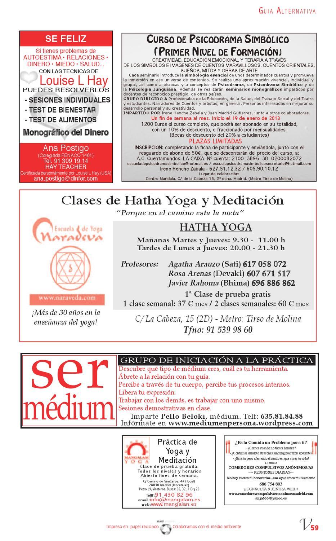 VerdeMente La Guía Alternativa de Madrid by Revista ...