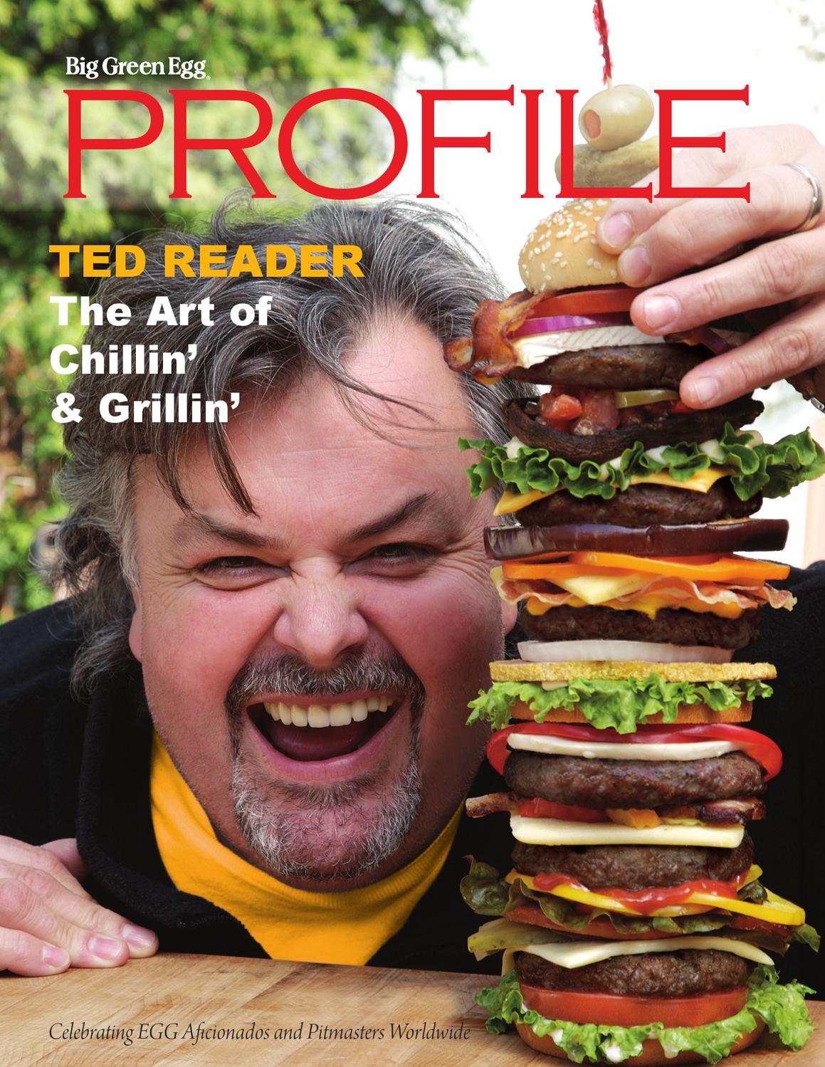 Bge Profile Ted Reader By Big Green Egg Issuu border=