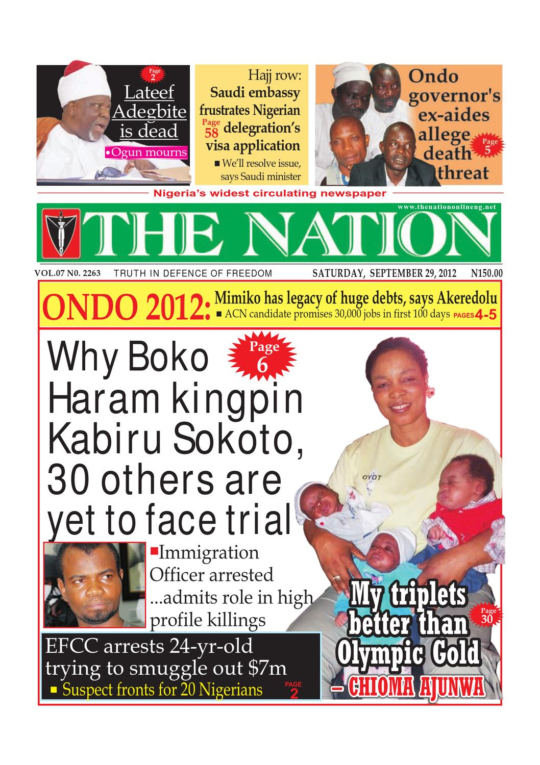 The Nation Saturday September 29 2012 By Issuu Have A Model Habcf024sd After Power Outage Last Night