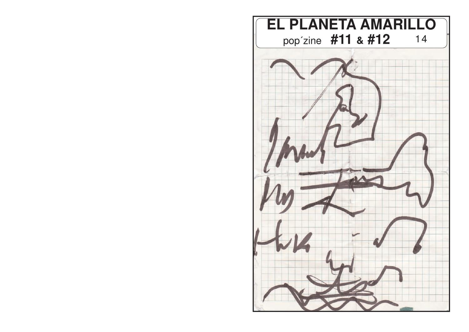 El Planeta Amarillo 11 Y 12 Vol 1 By Rafa Skam Issuu
