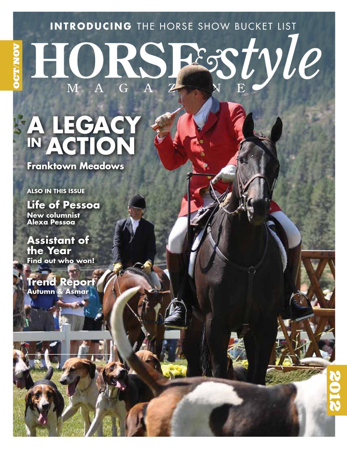 Horse & Style Magazine | October/November 2012 | Issue 7 ...