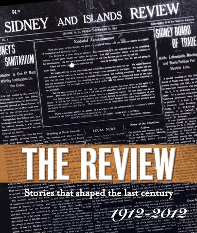 Special Features Sidney 100th By Black Press Issuu