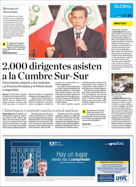 Diario La Hora El oro 01 de Octubre 2012 by Diario La Hora Ecuador ...