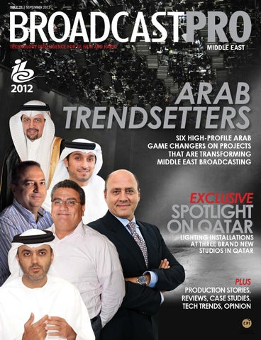 BroadcastPro Middle East - September 2012 Issue by