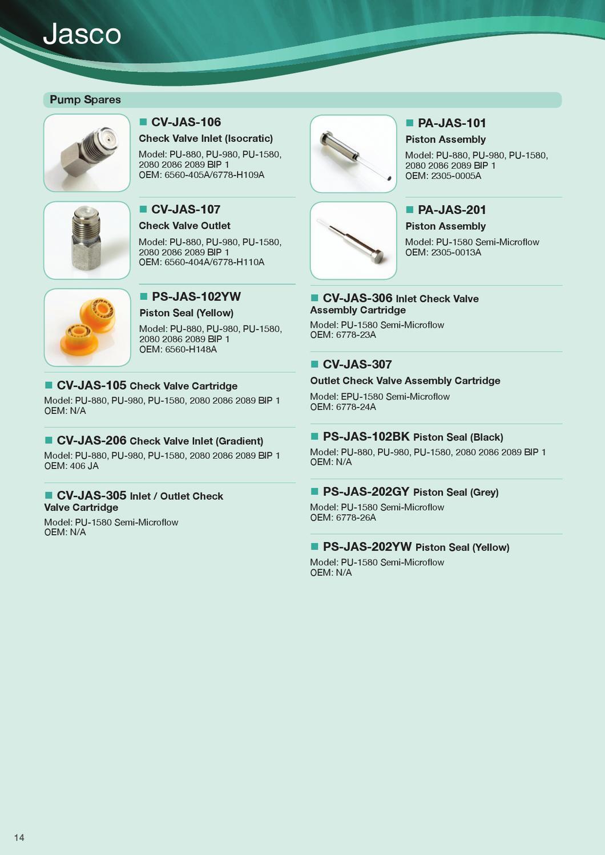 Kinesis HPLC Spares Catalogue by Kinesis - issuu