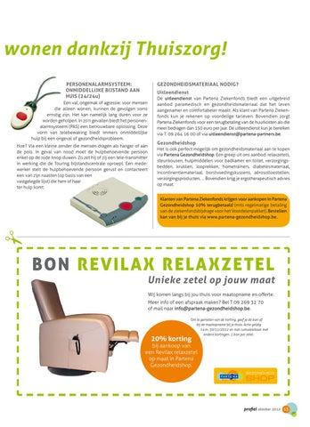 Relaxzetels Op Maat.Profiel 123 By Partena Ziekenfonds Issuu