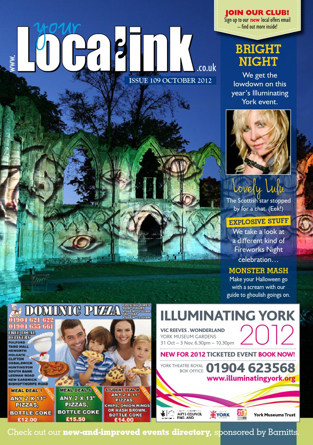 Your Local Link Magazine October 2012 By Your Local Link Ltd Issuu