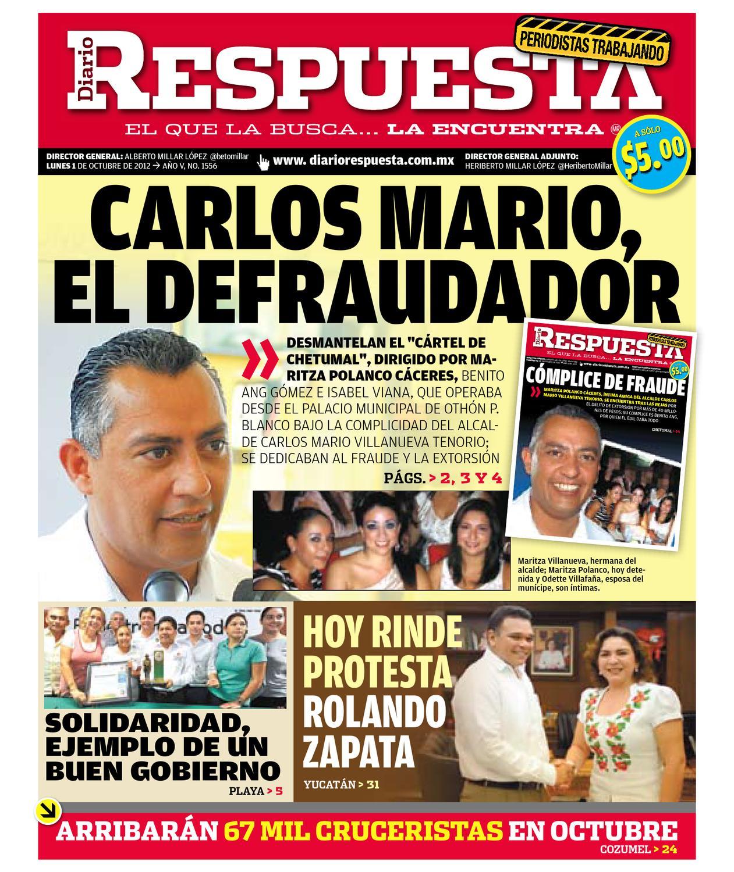 respuesta1octubre2012 by Diario Respuesta - issuu 95e87eae3d832