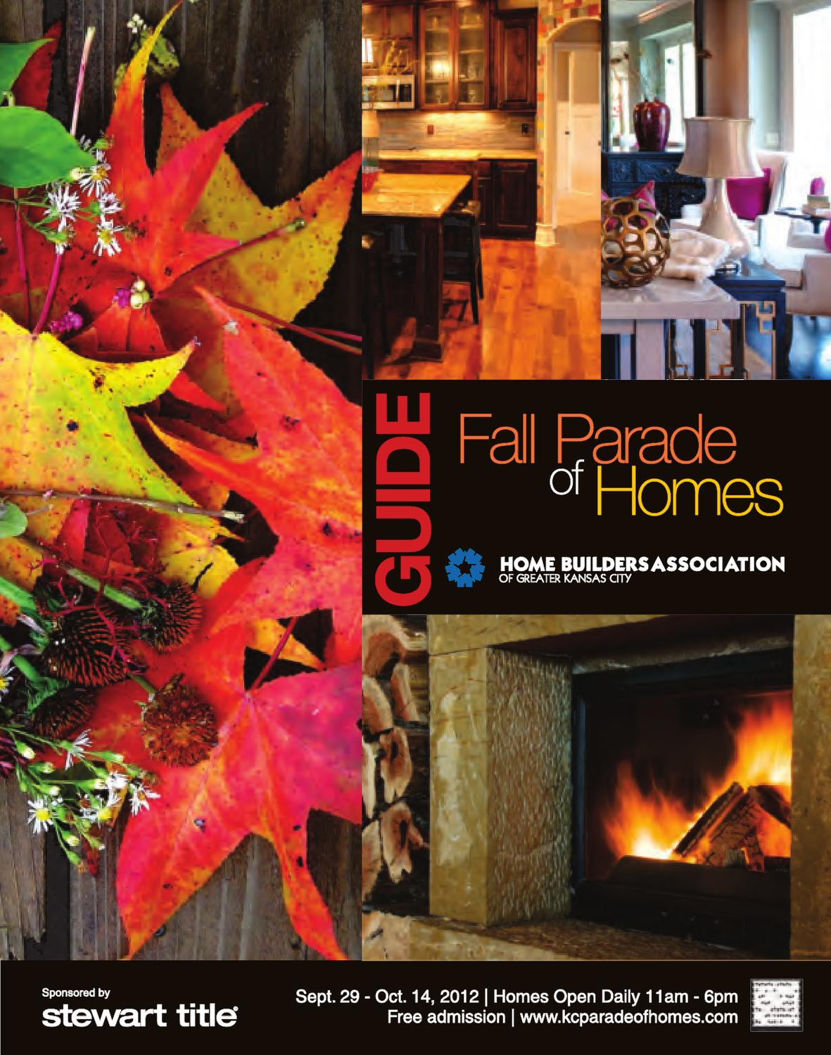 Kansas City Parade Of Homes Spring  Map