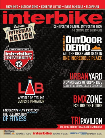 725ed2451ccf Interbike & Health+Fitness Business 2012 Event Guide by Interbike ...