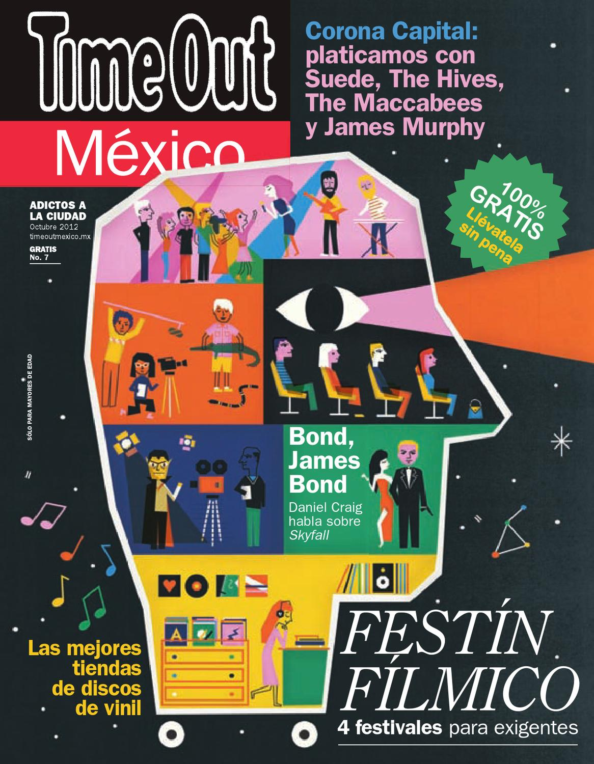 best website 89e64 42412 Time Out México Octubre by Time Out México - issuu