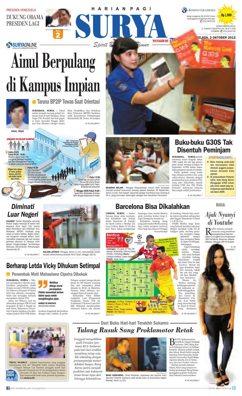 E-paper Surya Edisi 02 Oktober 2012 by Harian SURYA - issuu 2de98bf81c