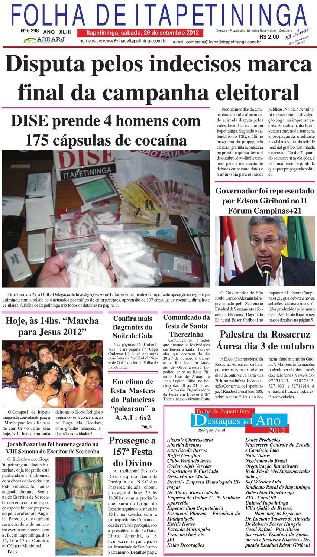 665cc4999da Folha 30 09 by Jornal Folha de Itapetininga - issuu