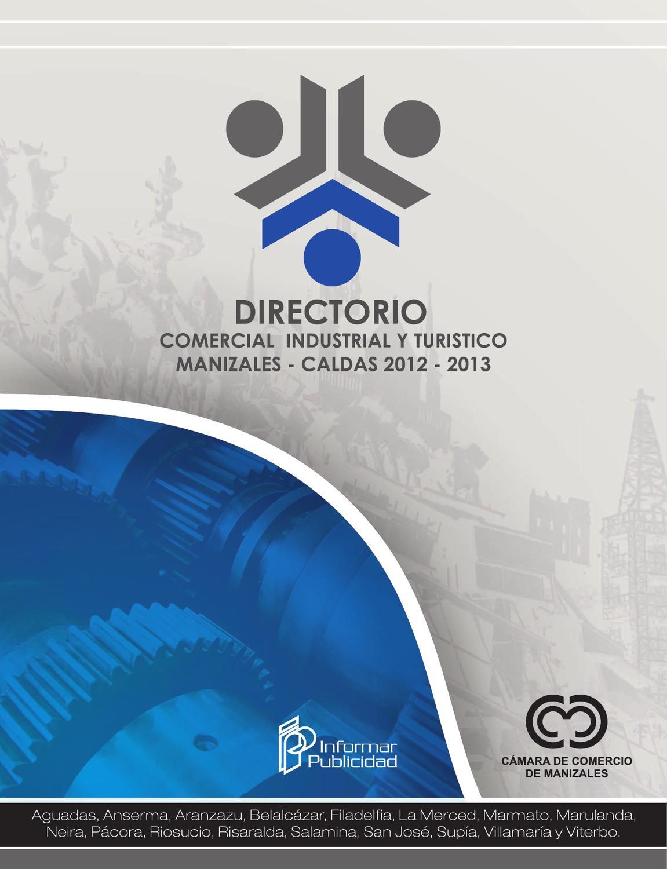 Directorio Comercial Industrial Y Turistico Manizales 2012 2013 By  # Muebles Plasticos Riduco