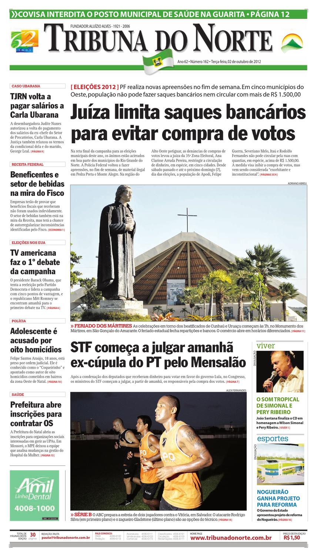75f1413077 Tribuna do Norte - 02 10 2012 by Empresa Jornalística Tribuna do Norte Ltda  - issuu