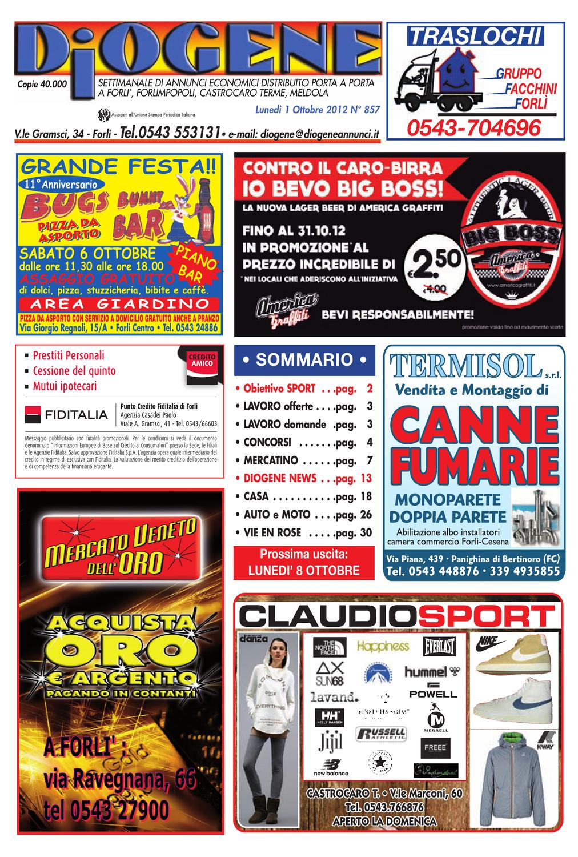 Diogene   1 Ottobre 2012 by Diogene Annunci Annunci Annunci issuu c5610d